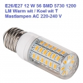 Led Lamp E27 Wit